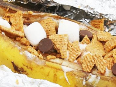 campfire-banana-boat