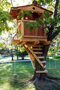 tree houses for kids cool play equipment for your garden that - Kids Tree House