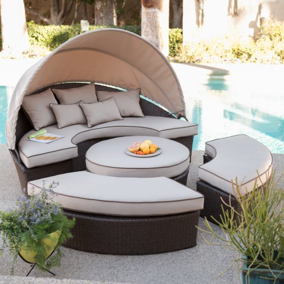 Your guide to the best patio furniture if its too sunny you can use the canopy to cover yourself for shade the furniture has olefin fabric it is resistant to water fading odor bacteria solutioingenieria Choice Image