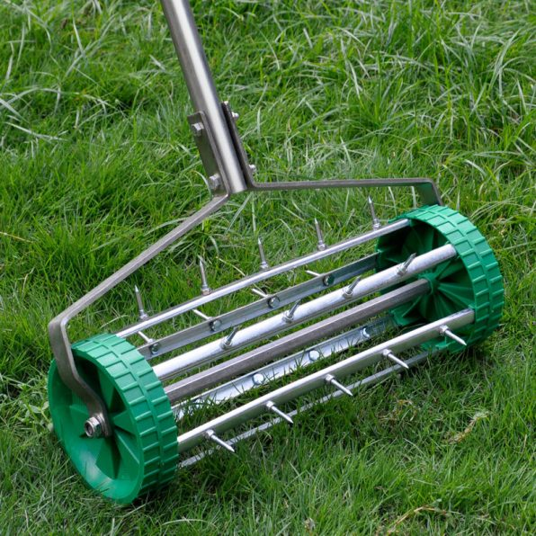 Grass seed 101 everything you need to know about lawn for Garden tool with spikes